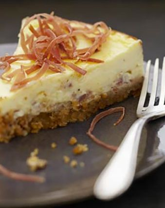 Cheesecake :  Cheesecake au jambon et fromage frais