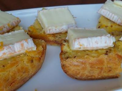 Recette : Cake carottes-moutarde et fromage - Recette au fromage