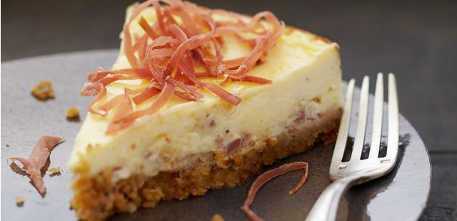 Cheesecake : Recette : Cheesecake au Jambon et fromage frais - Recette au fromage