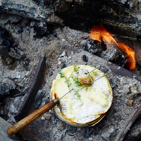 Recette : Camembert au barbecue - Recette au fromage