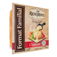 RICHES MONTS RACLETTE TRANCHETTES NATURE 850G.