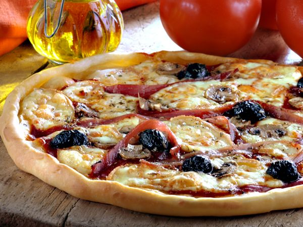 Dossier Pizzas au fromage