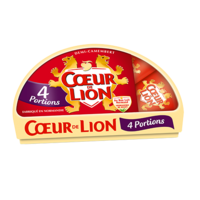 COEUR DE LION CAMEMBERT 4 PORTIONS 120G