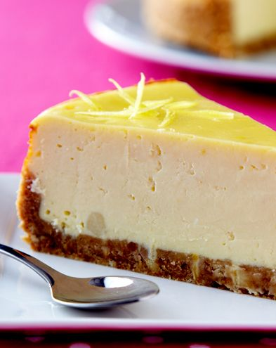 Cheesecake :  Cheesecake new-yorkais au fromage frais