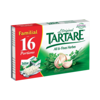 TARTARE AIL ET FINES HERBES PORTIONS X16
