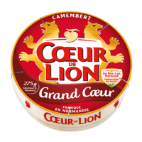 COEUR DE LION CAMEMBERT GRAND COEUR 275 GR