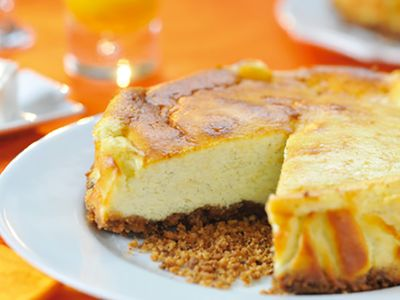 Recette : Cheesecake au fromage frais - Recette au fromage