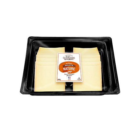 LES FROMAGERIES RICHESMONTS PLATEAU RACLETTE NATURE 700G
