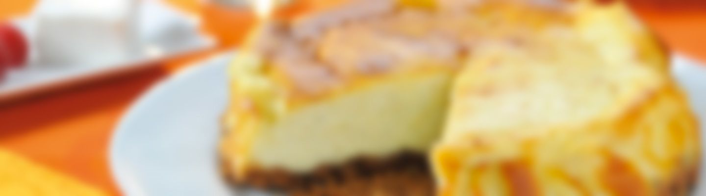 Recette Cheesecake au fromage frais 0% - Recette au fromage