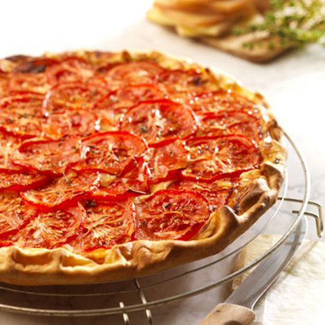 tarte aux tomates moutarde et fromage raclette recette au fromage. Black Bedroom Furniture Sets. Home Design Ideas