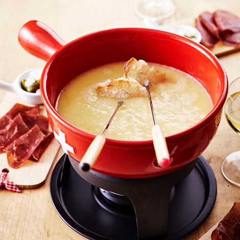 Recette : Fondue fribourgeoise - Recette au fromage