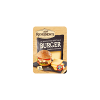 RICHESMONTS NATURE TRANCHES FROMAGE A RACLETTE POUR BURGER 140G