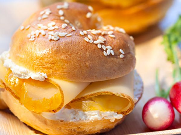 Hamburger maison : Burger & bagel maison by Fol Epi® : so delicious !
