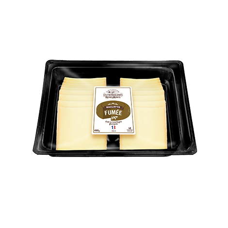 RICHESMONTS PLATEAU RACLETTE FUMEE SELECTION COUPE 450G