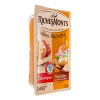 RICHESMONTS RACLETTE DUO NATURE FUMEE 420G