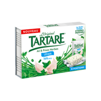 TARTARE LEGER AIL ET FINES HERBES 8 PORTIONS 128G